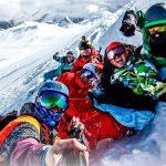 groupe bonne ambiance ski