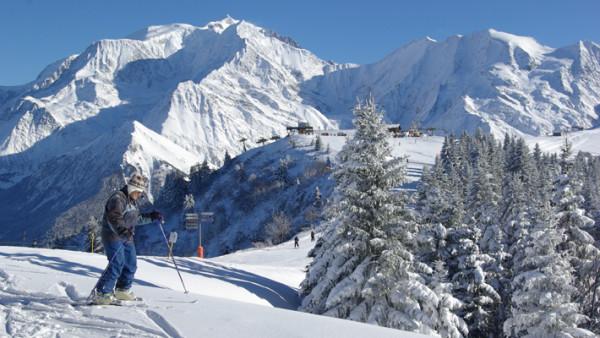 station ski st gervais